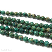 Chrysocolla Round Smooth 8mm (Full Strand)