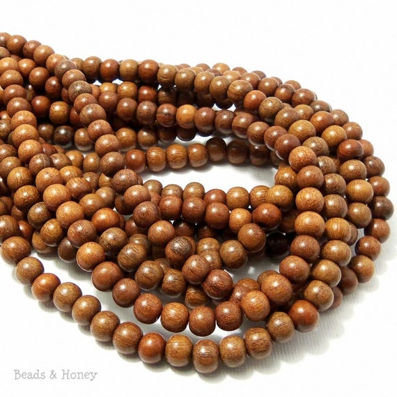 Magkuno Wood Beads Round 6mm