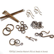 Custom Vintaj Jewelry Maker's Kit (54pcs)