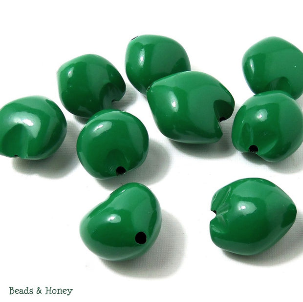 Kukui Nut Green 22-25mm (9pcs)