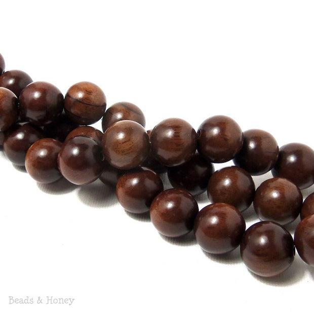 Magkuno Wood Round 14-15mm (16 Inch Strand)