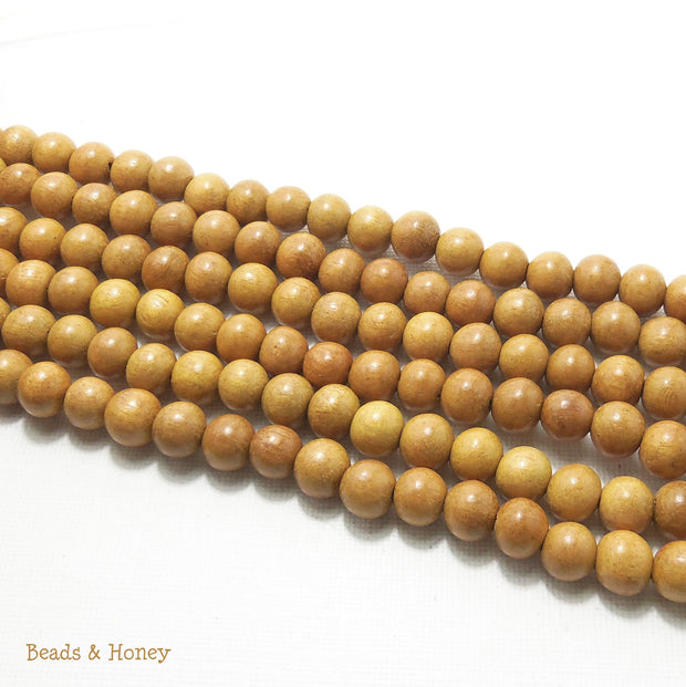 Nangka Wood Round 8mm (Full Strand)