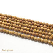 Nangka Wood Round 6mm (Full Strand)