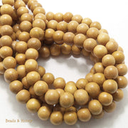 Nangka Wood Round 10mm (Full Strand)