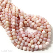 Pink Opal Round Smooth 6mm (Full Strand)