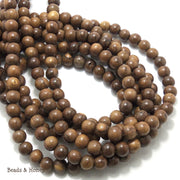 Robles Wood Round 8mm (Full Strand)