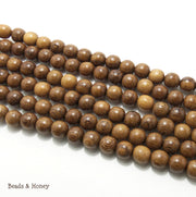 Robles Wood Round 12mm (Full Strand)