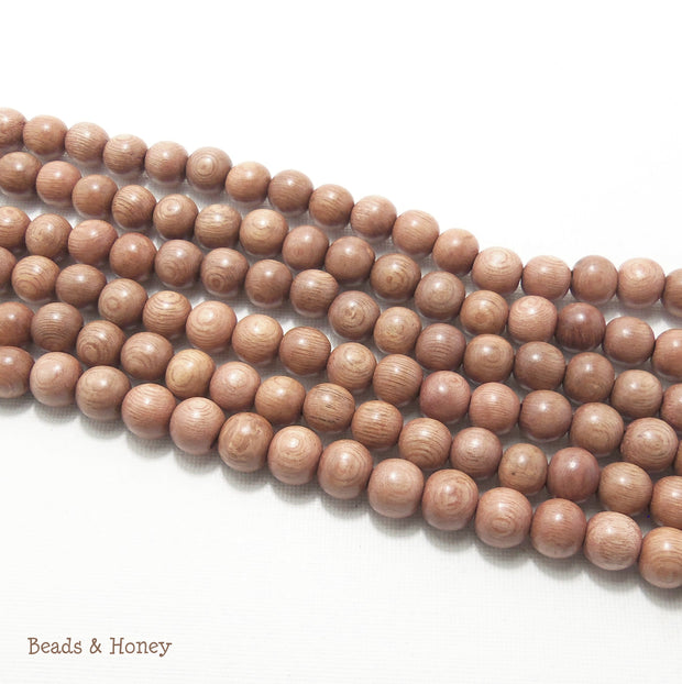 Rosewood Round 10mm (Full Strand)
