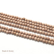 Rosewood Round 4-5mm (Full Strand)