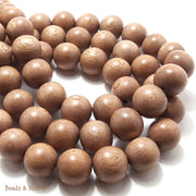 Rosewood Round 14-15mm (Full Strand)