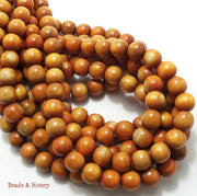 Sibucao Wood Beads Round 10mm
