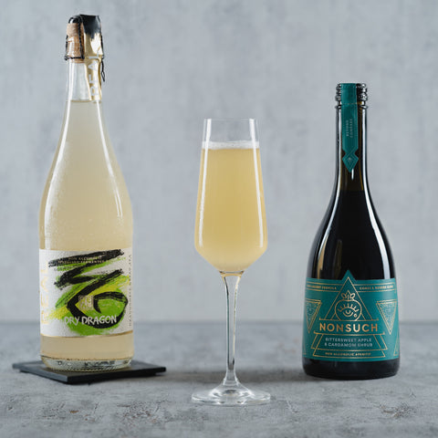 Spiced Shrub Fizz