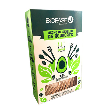 Pack Mix 24 piezas biodegradables | Desechables