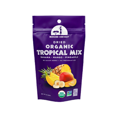 Dried Organic Tropical Mix