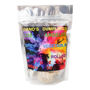 Dano's Dumplings Spicy Vegetable - Party Pack