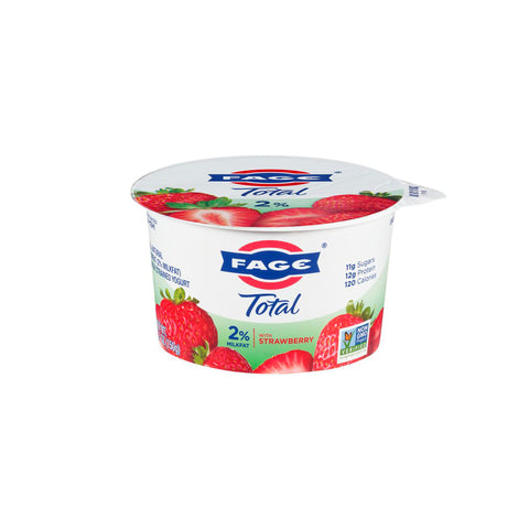 Fage Greek Yogurt with Strawberry
