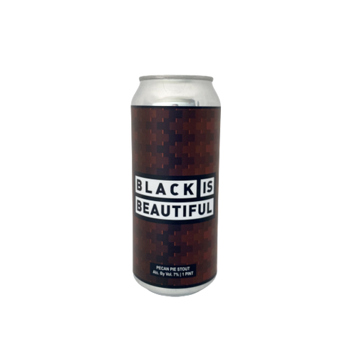 "Crown & Hops ""Black is Beautiful"" Pecan Pie Stout"