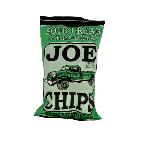 Joe Chips Sour Cream & Toasted Onion