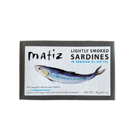 Matiz Smoked Sardines in Olive Oil