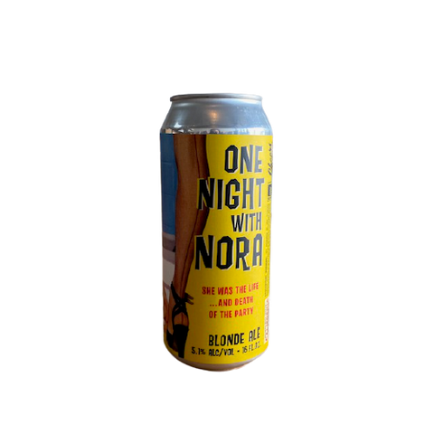 Paperback Brewing Co. One Night with Nora Blonde Ale