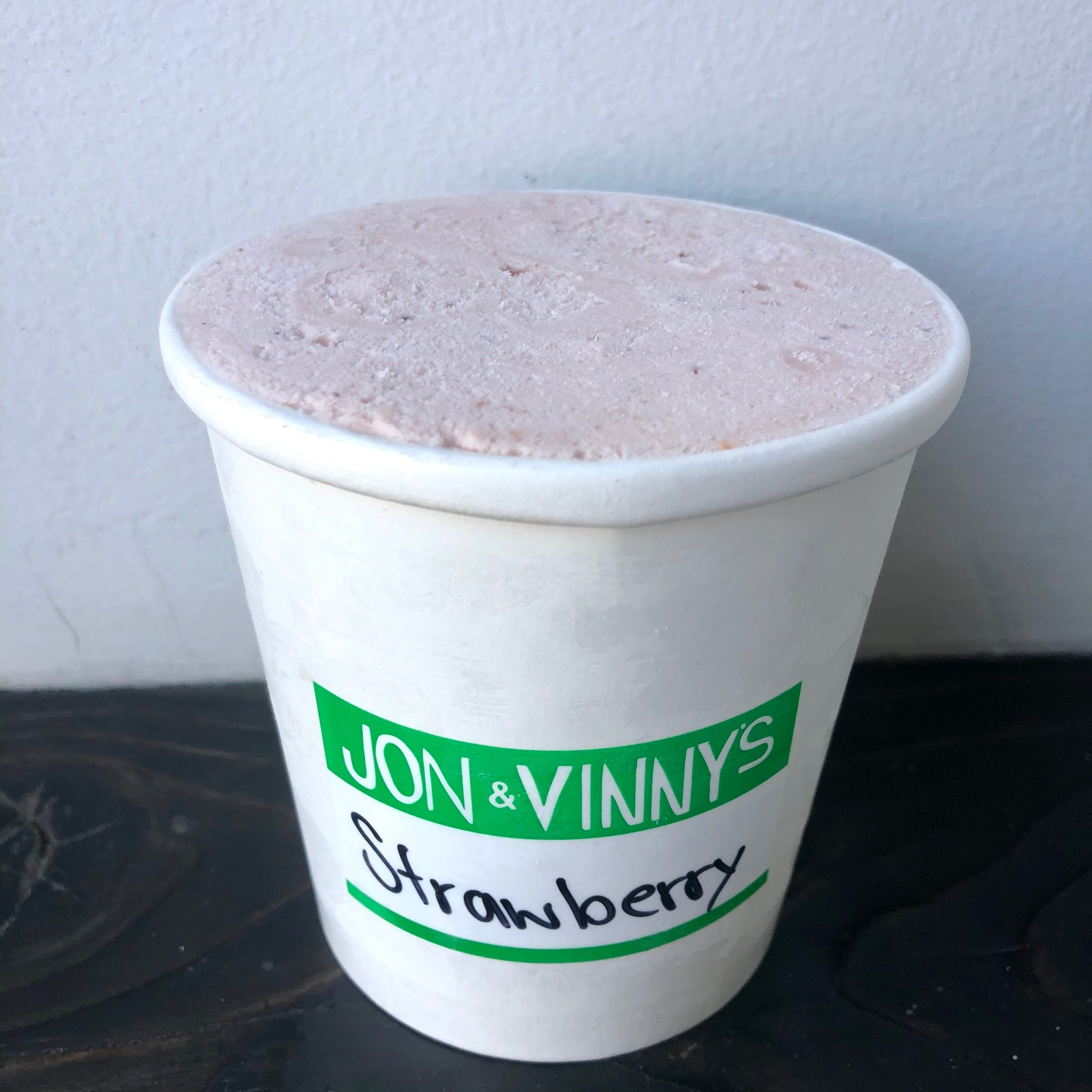 Jon and Vinny's Strawberry Ice Cream