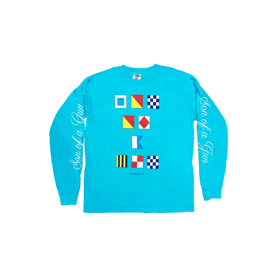 Nautical Long Sleeve (Blue)