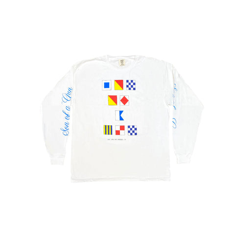 Nautical Long Sleeve (White)