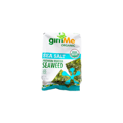 Organic Roasted Seaweed - Sea Salt