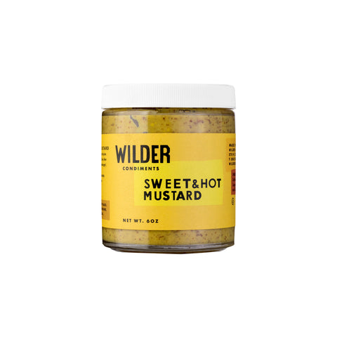Wilder Sweet + Hot Mustard