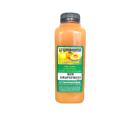 JJ's Lone Daughter Ranch - Red Grapefruit Juice (Frozen)