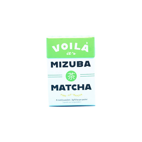 Voilà! Mizuba Matcha || Eco Single-Serve Packs