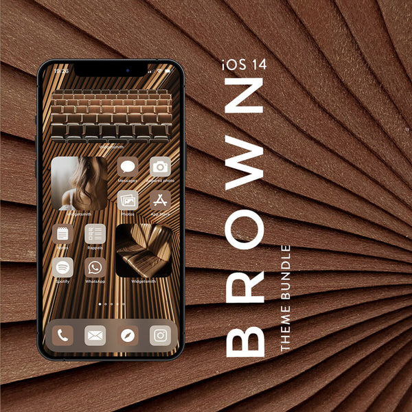 BROWN iOS 14 THEME