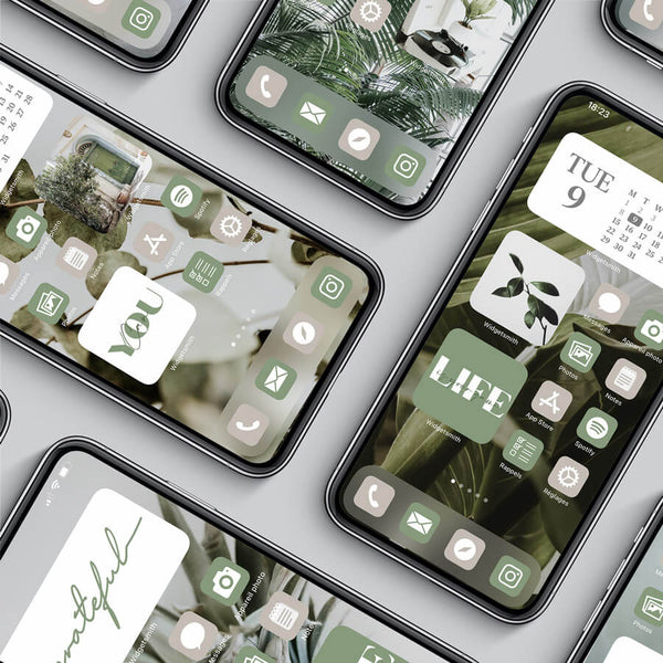 GREEN iOS 14 THEME