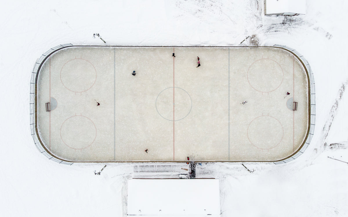 Pondy Minneflowta Hockey Minnesota Puck Rink