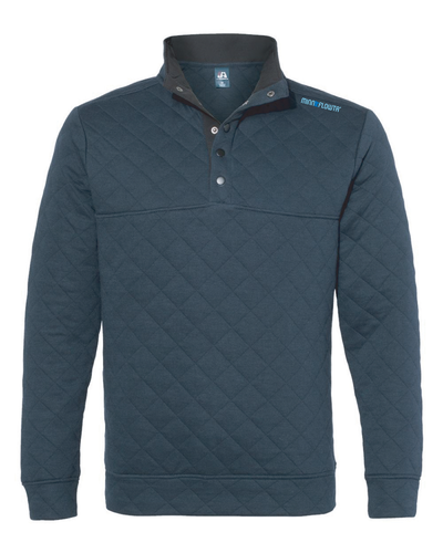 Quilted Snap Pullover