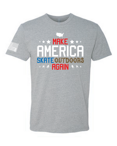 Make America Skate Outdoors Again Tee