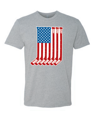 Sticks And Stripes Tee (Adult)