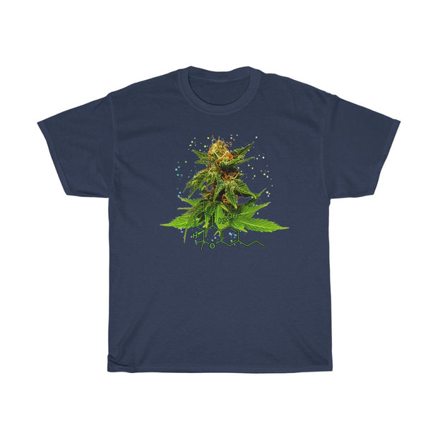 The Hybrid Flower T, weed clothing, hybrid flower personal design