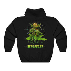 SeeBeeDee Hoodie, CBD, CBG, make some CBD tea with lemon and ginger