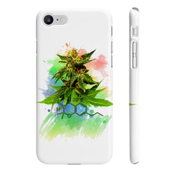 Cannabis original Art Slim phone Case.