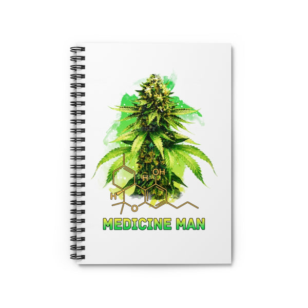 The Medicine Man Spiral note book
