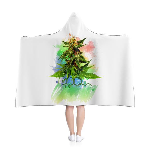 hooded blanket, cannabis apparel