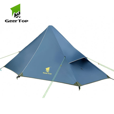 GeerTop Ultralight One Person Three Season Backpacking Tent