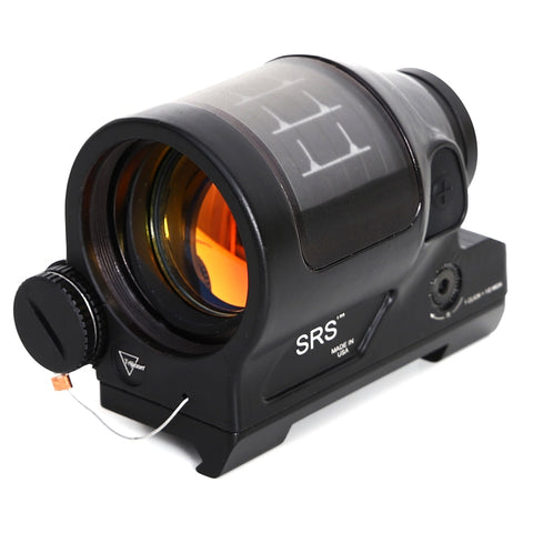 1X38 Red Dot Sight Scope Holographic Solar Power System QD Mount