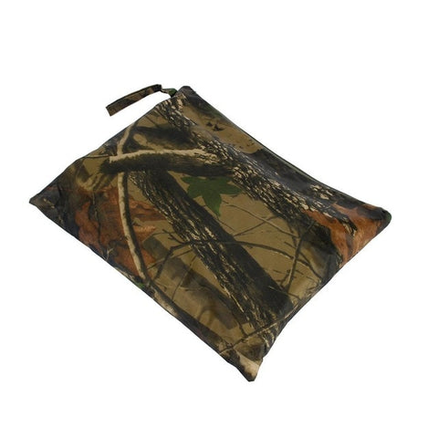 Waterproof  Rain Poncho Durable Multi-function Men Women Camo Tent Mat