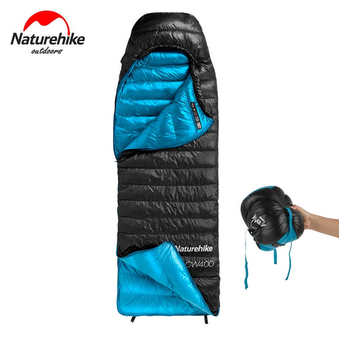 Naturehike CW400 Ultralight 4 Season Square Goose Down Sleeping Bag