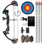 Compound Bow For Teens And Kids, Twin Cam Max Speed 260fps