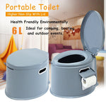 Portable Toilet For Disabled Elderly or Handicapped
