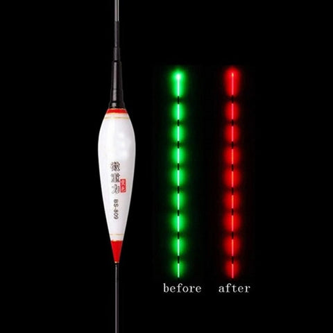 Smart Fishing Float Bite Alarm Buoy LED Light Color Change