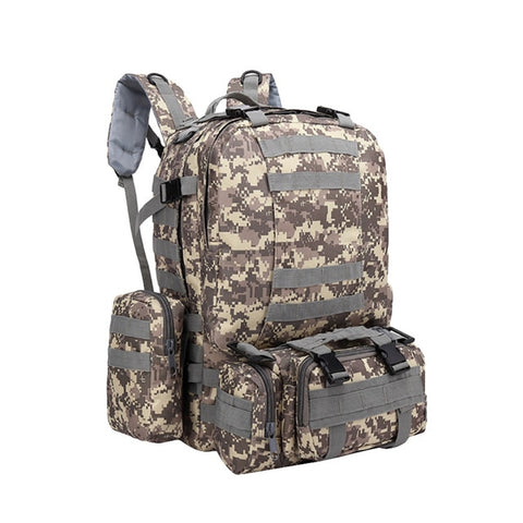 55L 3D Tactical  Backpack